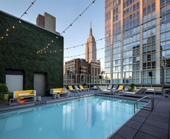Hotel Gansevoort Park Avenue Rooftop Pool Nyc